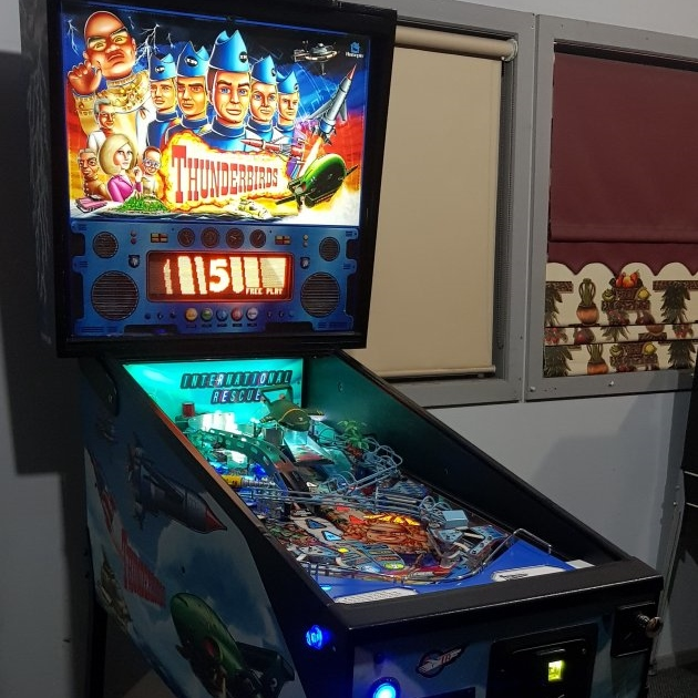 New Thunderbirds Pinball Distributor in Melbourne