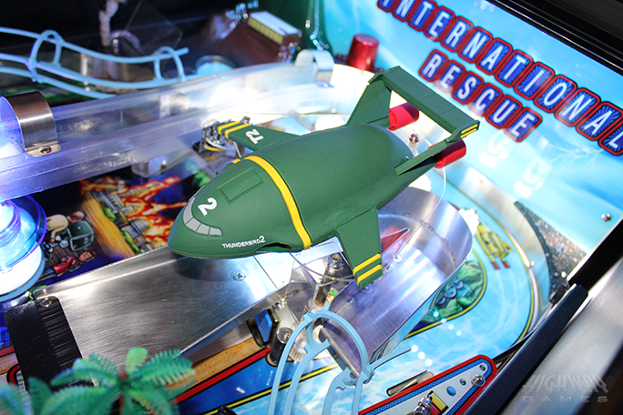 Thunderbirds Pinball - Themed Playfield
