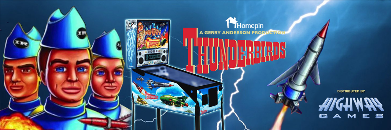 Thunderbirds Pinball contact